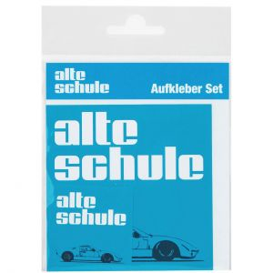 Alte Schule Sticker Set angular