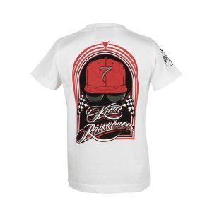 Kimi Räikkönen Kids T-Shirt Silhouette