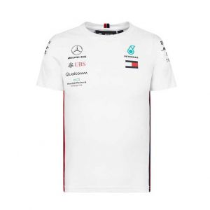 Mercedes AMG Petronas Motorsport 2019 F1™ Fahrer T-Shirt Kinder weiß