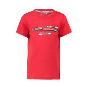 Camiseta Scuderia Ferrari Coche Niños