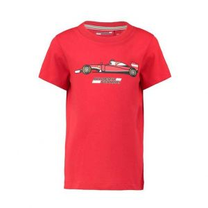 Scuderia Ferrari T-Shirt Car Kids