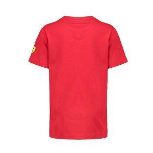 Scuderia Ferrari T-Shirt Car Kids