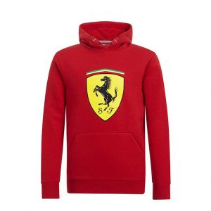 Sudadera con capucha Scuderia Ferrari para niños
