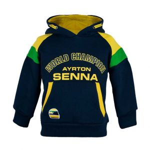 Ayrton Senna Kapuzenpullover Racing Kids
