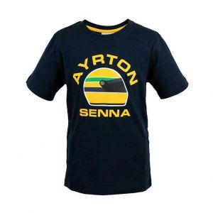 Ayrton Senna Camiseta Racing para niños