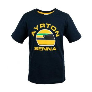 Ayrton Senna Maglietta Racing Kids