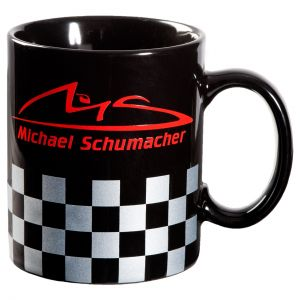 Michael Schumacher Taza Chequered