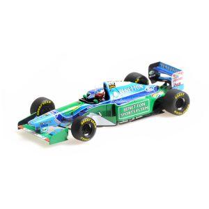 Michael Schumacher Benetton B194 #5 Vincitore Canada GP Campione del mondo di Formula 1 1994 1/43