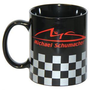 """Michael Schumacher Tasse """"Chequered"""""""