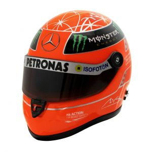 Michael Schumacher Final Casque GP Formel 1 2012 1/4