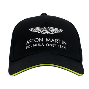 Aston Martin F1 Official Team Cappuccio nero