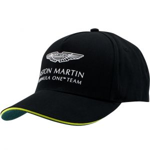 Aston Martin F1 Official Team Casquette noir