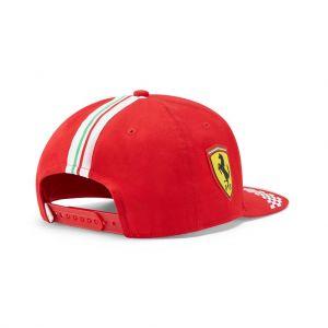 Scuderia Ferrari Gorra Piloto Sainz roja