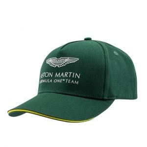 Aston Martin F1 Official Team Niños Gorra verde