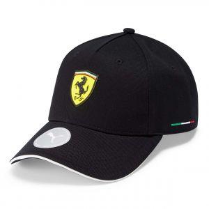 Scuderia Ferrari Casquette Classic noir
