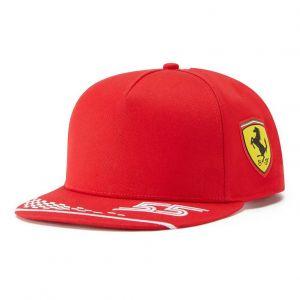 Scuderia Ferrari Fahrer Cap Sainz rot