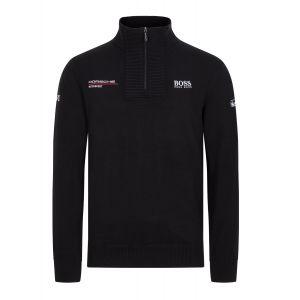Porsche Motorsport Strickpullover schwarz