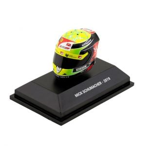 Mick Schumacher casco miniatura 2019 1/8
