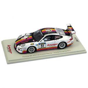 Kremer Racing Porsche 997 GT3 Cup VLN Nürburgring 2012 1/43