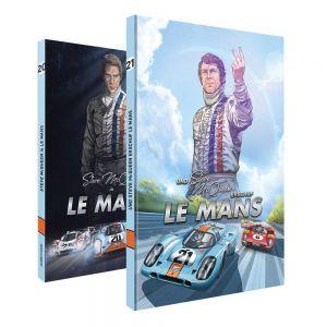 Comic-Set: Steve McQueen in Le Mans + Und Steve McQueen erschuf Le Mans (German)