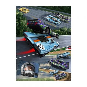 Comic-Set: Steve McQueen in Le Mans + Und Steve McQueen erschuf Le Mans (Allemand)
