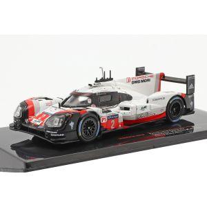 Porsche 919 Hybrid #2 Winners 24h Le Mans 2017 Bernhard, Hartley, Bamber 1/43