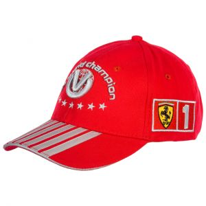 7 Times World Champion Michael Schumacher Kids Cap