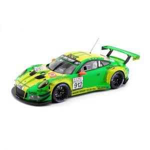 Manthey-Racing Porsche 911 GT3 R - #912 7. puesto VLN Nürburgring 2018 1/18