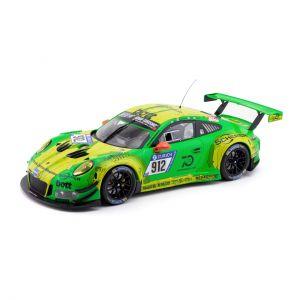 Manthey-Racing Porsche 911 GT3 R - #912 Ganador de la carrera de 24h de Nürburgring 2018 1/18