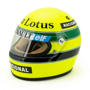 Ayrton Senna Helm 1985 Maßstab 1:2