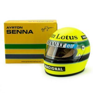 Ayrton Senna Casquette 1985 Échelle 1:2