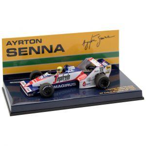Ayrton Senna Toleman TG183B #19 GP del Brasile Formula 1 1984 1/43
