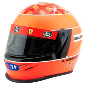 Michael Schumacher Casco Ferrari F1 Campeón del Mundo 2000 1/2