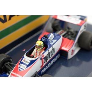 Toleman TG183B #19 Fórmula GP Brasil 1 1984 1/43