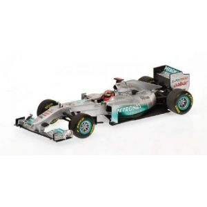 Michael Schumacher Mercedes GP F1 2011 Showcar 1:43