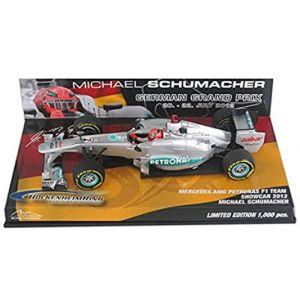 Michael Schumacher Mercedes AMG Petronas F1 Team Showcar 2012 1/43