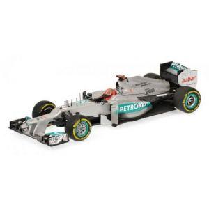 Michael Schumacher Mercedes AMG Petronas F1 Team 2012 1/43