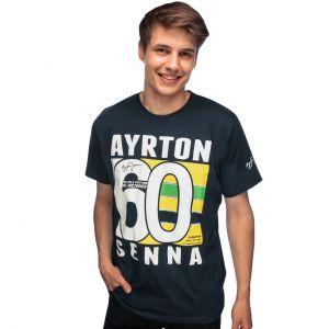 Camiseta Ayrton Senna Brasil 60