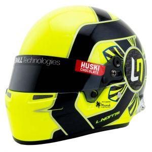 Lando Norris Casco en miniatura Fórmula 1 2021 1/2