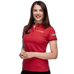 Motorworld Damen Poloshirt Zielflagge