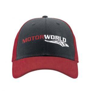 Motorworld Casquette Drapeau cible