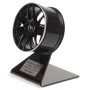 Porsche 997.2 Turbo 2010 Wheel Rim Black/Silver 1/5