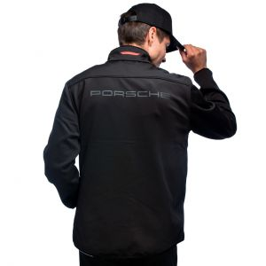 Porsche Motorsport Giacca Softshell nero