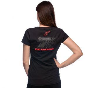 Kimi Räikkönen Ladies T-Shirt Cross Seven
