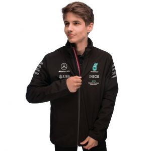 Mercedes-AMG Petronas Team Giacca softshell 2021 nero