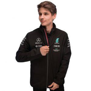 Mercedes-AMG Petronas Team Veste softshell 2021 noire
