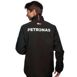 Mercedes-AMG Petronas Team Softshell Jacke 2021 schwarz