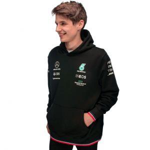 Mercedes-AMG Petronas Team Sudadera con capucha 2021 negra