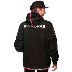 Mercedes-AMG Petronas Team Kapuzenpullover 2021 schwarz