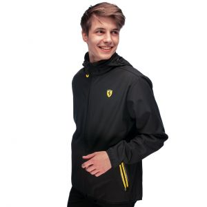 Scuderia Ferrari Softshelljacke schwarz
